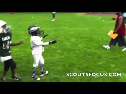 Nate Robinson s 6 year old son delivers a pair of major HITS to running back!