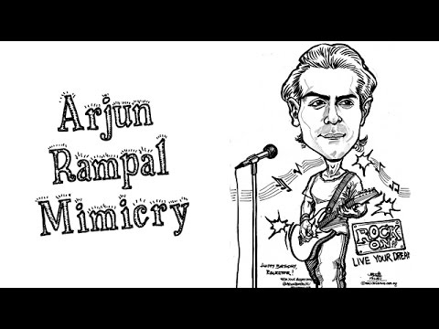 Arjun Rampal Mimicry by Abin | Mimicry Of Bollywood Stars