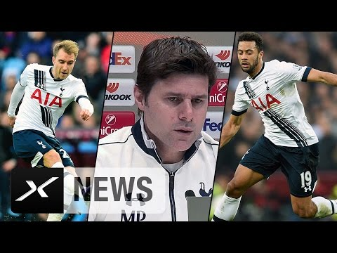 Spurs ohne Christian Eriksen? Mauricio Pochettino klärt auf | Tottenham Hotspur - Borussia Dortmund