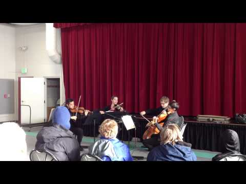 BCO performing holiday concert for Temple Grandin School - 04/01/2014