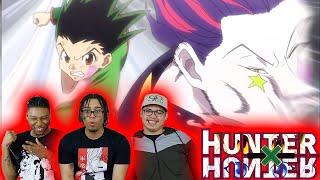 GON VS HISOKA ALREADY!?!? Hunter x Hunter EP. 34, 35, 36 REACTION