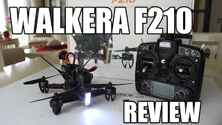 Walkera F210 Mini Racing Quad RTF w/ Devo 7 Unboxing And Short Review (Courtesy HobbyWOW)