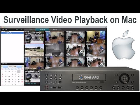 Surveillance Video Playback on Mac Software from H.264 CCTV DVR