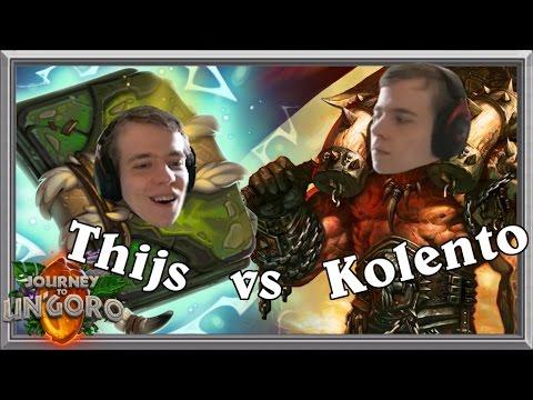 Thijs vs. Kolento: Lyra? More like Lyr-owned (Un'Goro Miracle Priest)