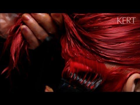 Cabelos vermelhos - Keraton Banho de Brilho Pimenta Rosa - KERT