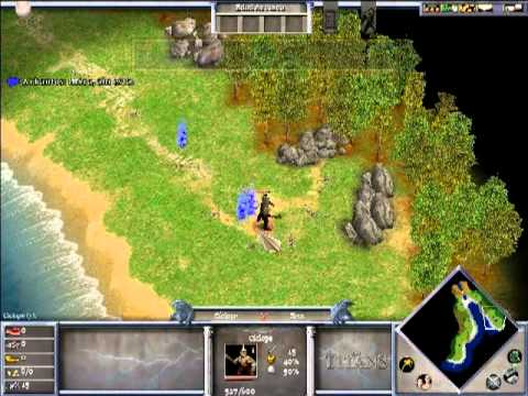 Age of Mythology - The titans expansion. Episodio 1