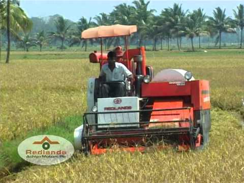 COMBINE HARVESTER INDIA | CHAMPION TR 22 | REDLANDS ASHLYN MOTORS PLC