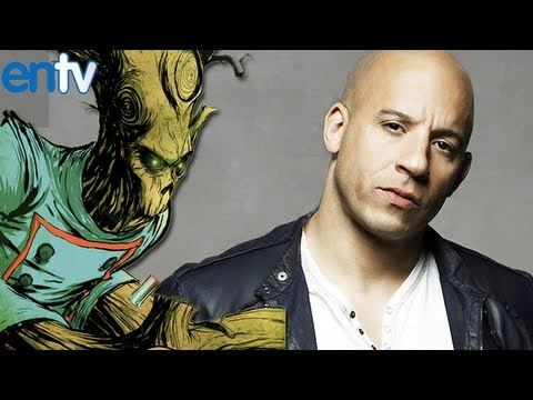 Vin Diesel Is Groot In Guardians of The Galaxy