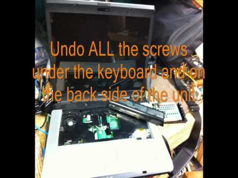 How to repair a Toshiba laptop that won't boot. black screen white curser. after the toshiba logo