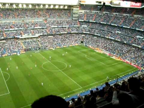 Real Madrid - Osasuna Pampeluna 3-2 02/05/2010 Celebration - Estadio Santiago Bernabeu