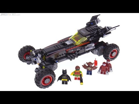 LEGO Batman Movie Batmobile review! 70905