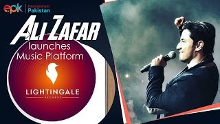Ali Zafar Will Be Launching 10 New Artists Every Year | Lightingale Records | EPK News