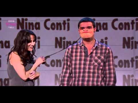 Nina Conti on Russel Howard's Good News