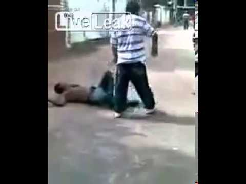 Mexican Cowboy Beats The Crap Out Of A Guy Who Disrespected His Daughter