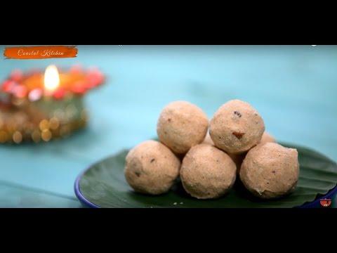 How To Make Wheat And Rava Ladoo || Coastal Kitchen