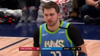 Luka Doncic (35 Points) Highlights vs. Blazers