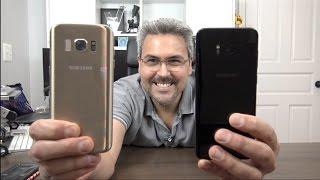 Galaxy S8 Plus Versus CLONE Galaxy S8