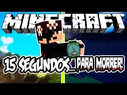 15 SEGUNDOS... PARA MORRER! - Minecraft (NOVO)