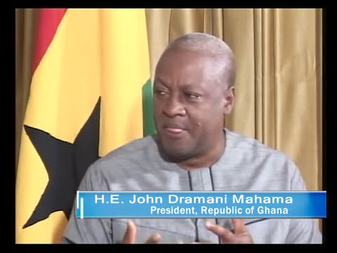 GOOD EVENING GHANA EXCLUSIVE WITH H.E. PRESIDENT JOHN MAHAMA
