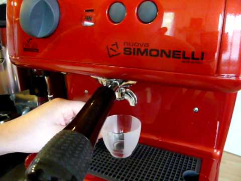 Single shot with Nuova Simonelli Oscar