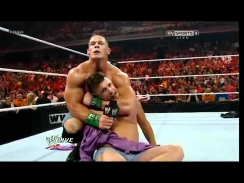 Wwe Raw 6 4 12 John Cena Vs Michael Cole (no Dq Match) video