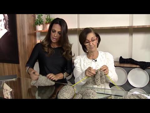 Aprenda a fazer Gorro de tricô