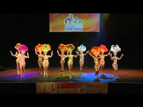 Viva Latina Samba performance at the 2012 Sydney Latin Festival