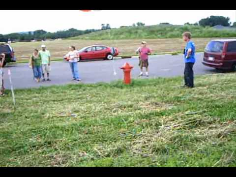W0NE 2010 HAM RADIO FIELD DAY SITE WEATHER BALOON LAUNCH