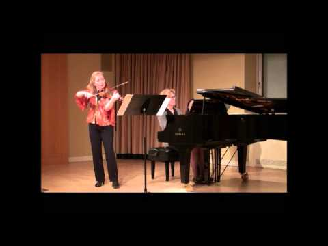 Chase/Buechner Play Beethoven - Op. 96, Allegro moderato