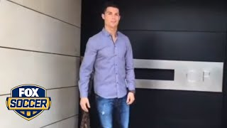 Ronaldo takes fans on a tour of his house