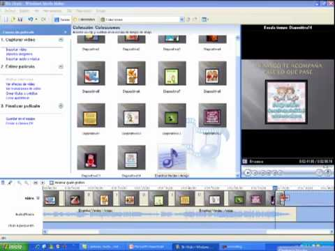 Tutorial: Como transformar diapositivas a video con Windows Movie Maker