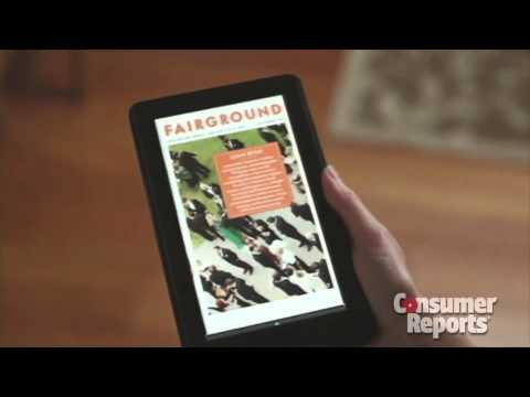 Review: Amazon Kindle Fire (Consumer Reports)