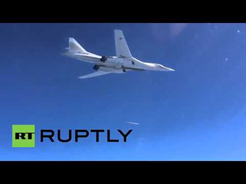 Syria: Russian Tu-160s fire cruise missiles at militant targets in Syria