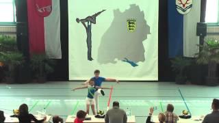 Siska Orth & Leon Papp - Ländle Cup 2015