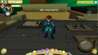 Marvel Super Hero Squad Online Mr. Fantastic- HD