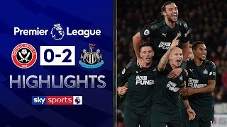 VAR drama surrounds Shelvey goal 😲| Sheffield United 0-2 Newcastle | Premier League Highlights