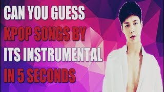 [K-POP CHALLENGE] Guess the song by the Instrumental!