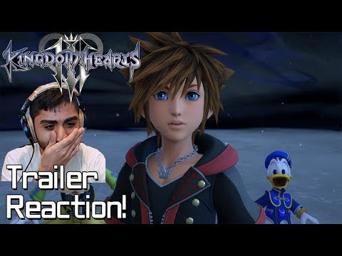 Kingdom Hearts 3 TGS Big Hero 6 Trailer Reaction!