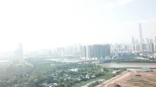New Buildup and Pollution on Hong Kong China Border