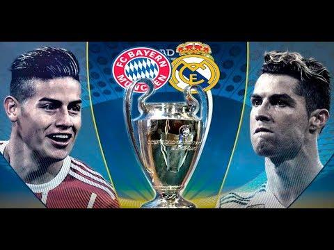 Bayern Munich vs Real Madrid 25/04/2018 Champions league 2018 | PES 2018 Simulación thumbnail
