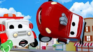 Xe lửa Troy - Ngày tựu trường đặc biệt - Hector đưa các bé đến trường - Thành phố xe 🚉 phim hoạt