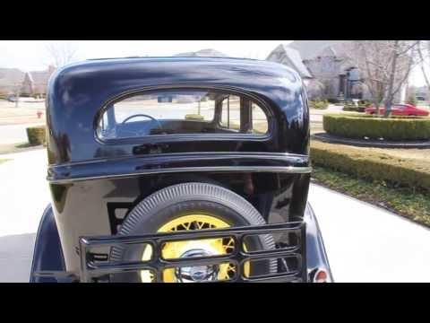 1935 Chevy 4 Door Classic Muscle Car for Sale in MI Vanguard Motor Sales