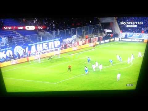 DNIPRO-FIORENTINA 1-2 Europa League 3/10/2013