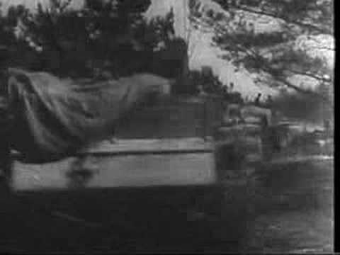Newsreel of the Estonian and Latvian Waffen-SS in Action