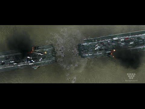 London Has Fallen VFX Breakdown By Worldwide FX - Chelsea Bridge Sequence