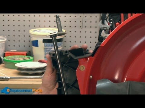 How to Replace the Front Axle Assembly on a Troy-Bilt TB130 Lawn Mower (Part # 911-04143B)
