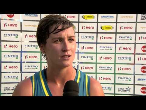 Post Match Interview Kathryn Slattery
