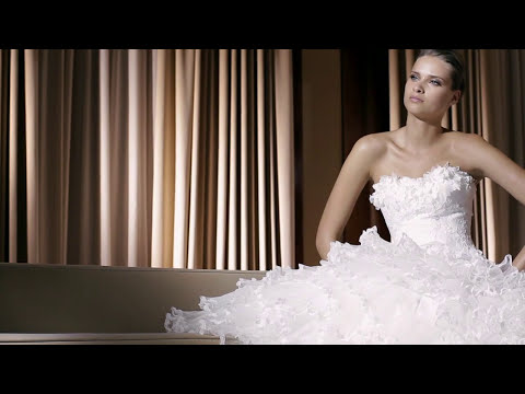 Wedding dresses - Vestidos de novia - Making of  Pronovias  2011