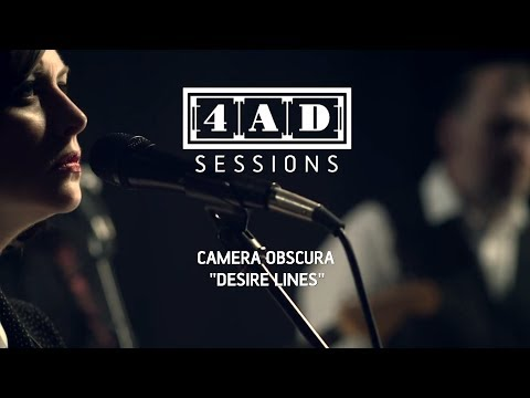 Camera Obscura - Desire Lines (Live @ 4AD Session, 2013)