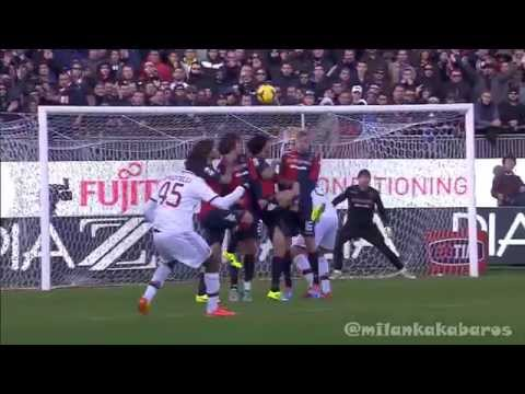 Mario Balotelli AC Milan Serie A Goals 2013 2014